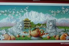 Original art used in packing, Celestial Seasonings Tea Center