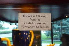 Teapot Collection, Celestial Seasonings Tea Center