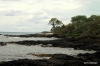 Black lava beaches, South Maui