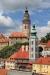 Cesky Krumlov town overview