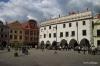 Cesky Krumlov town square