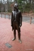 Lifesize statue of Thomas Jefferson, Monticello