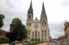 Main approach to Chartres Cathedral
