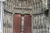 Detail to South Entrance, Chartres Cathedral