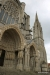 North Entrance and front spire, Chartres Cath
