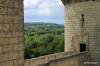 View of Loire Valley from Chinon Chateau
