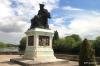 Francois Rabelais statue in Chinon