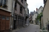 Chinon, medieval alley