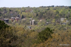 View of Eureka Springs from Christ of the Ozarks