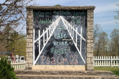 Berlin Wall, Church in the Grove, Eureka Springs