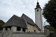Church of St. John the Baptist, Lake Bohinj, Slovenia