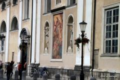 Exterior, Church of St. Nicholas, Ljubljana