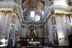 Interior, Church of St. Nicholas, Ljubljana