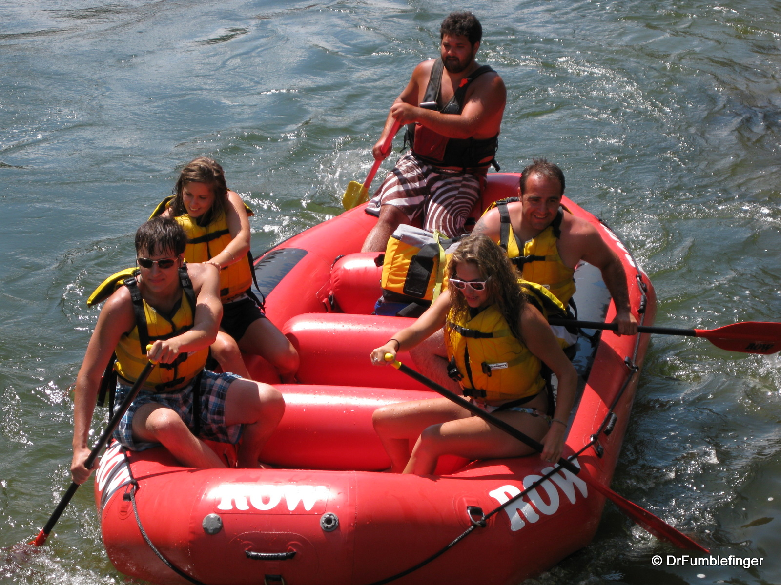 Rafting the Clark Fork River