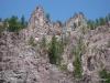 Hills around Clark Fork River