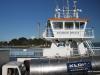 Tarbert Ferry crosses the River Shannon