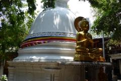 Stupa, Gangaramaya Temple, Colomb
