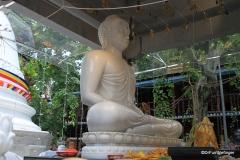 White Jade Buddha, Gangaramaya Temple, Colombo