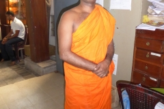 Monk, Gangaramaya Temple, Colombo