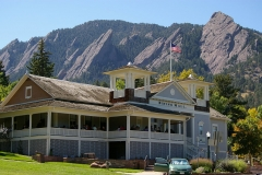Dining Hall, Chautauqua National Historic Landmark, Boulder.  Courtesy Wikimedia and Hustvedt