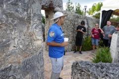 Guide, Coral Castle, Florida