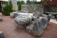 Florida Shaped Table, Coral Castle, Florida