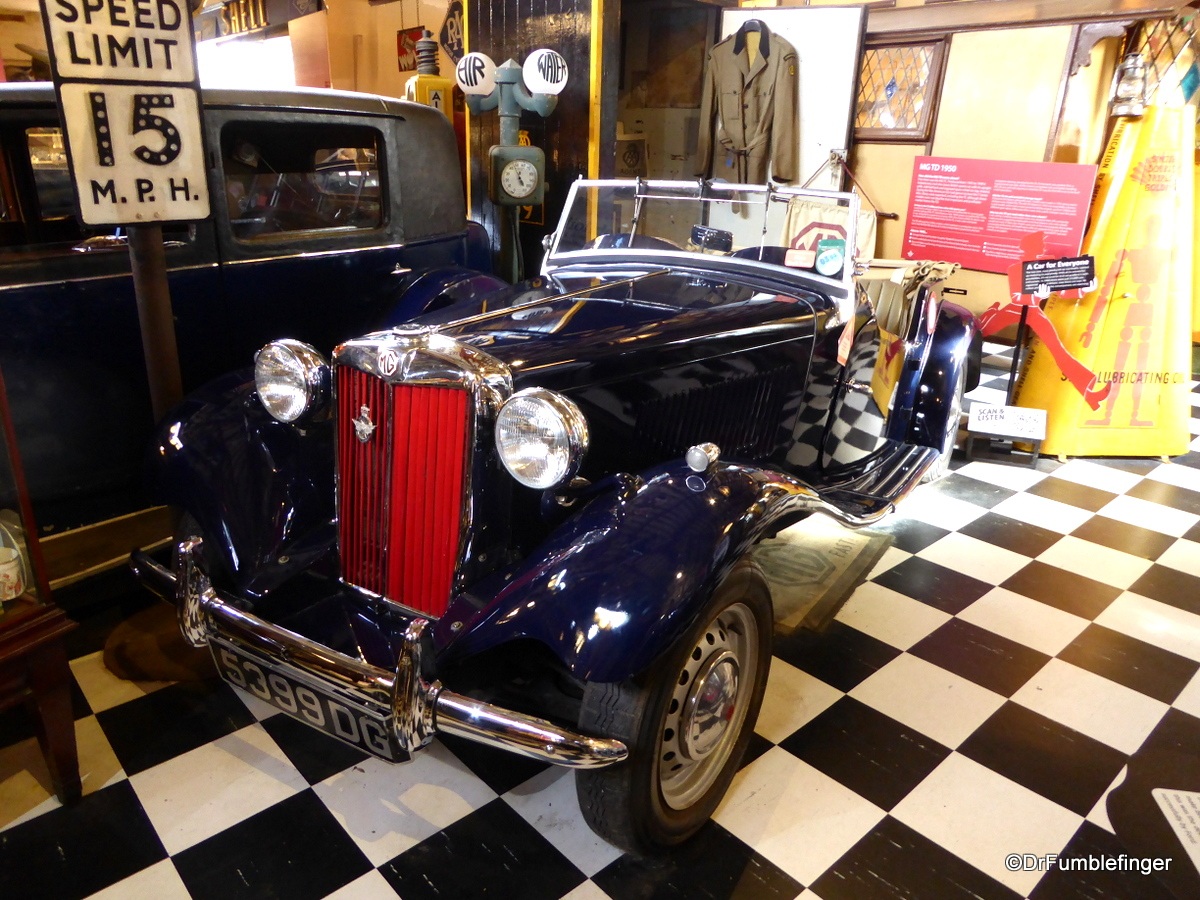 Cotswold Motoring Museum and Toy Collection.  1950 MG TD