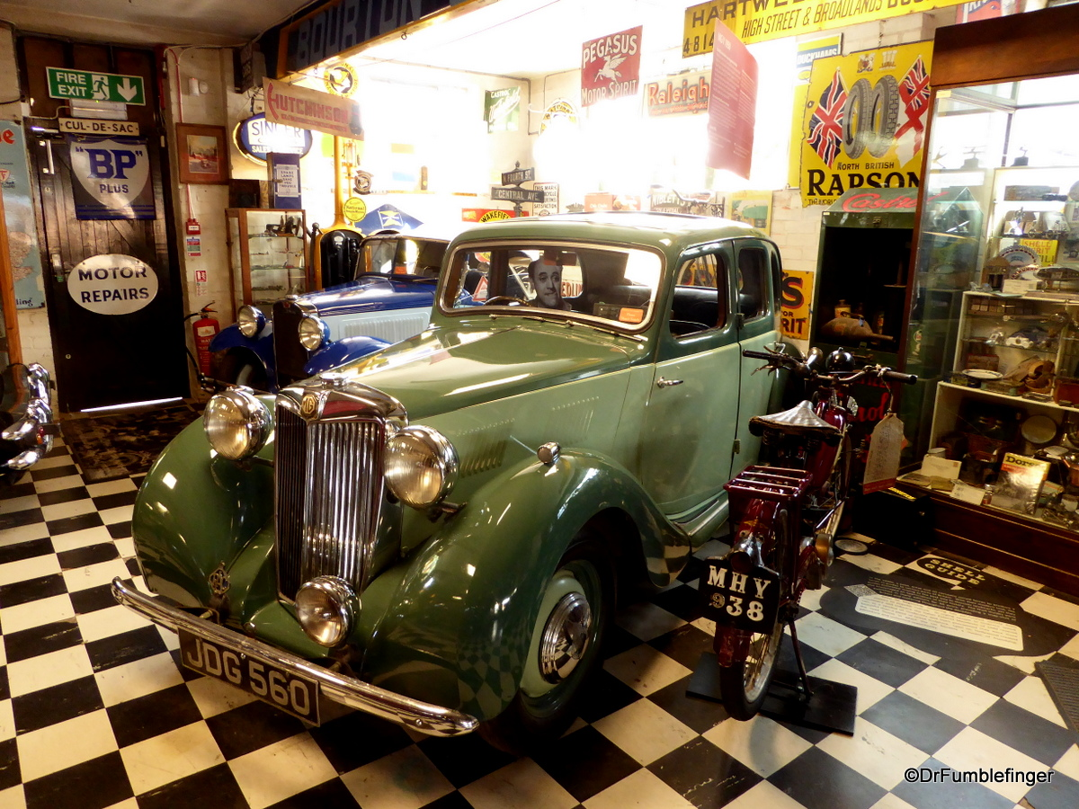 Cotswold Motoring Museum and Toy Collection.  1950 MG Y