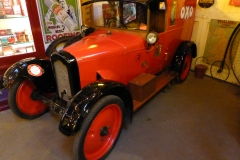 Cotswold Motoring Museum and Toy Collection .  Rover 8 Van 1922
