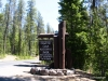 Entrance to Crater Lake N.P.