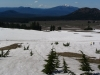 Snow field to west of Crater Lake