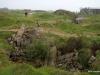 Destroyed bunker, Pointe-du-Hoc