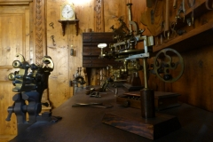 Clockmaker's shop, Leonardo Da Vinci National Science and Technology Museum