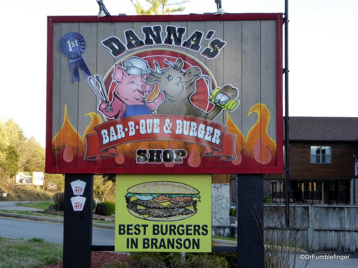 Danna's BBQ, Branson
