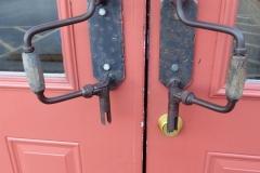 Door handles, Danna's BBQ, Branson