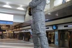 Astronaut Jack Swigert, Denver Airport