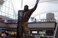 Captain Elrey Jeppesen, Denver Airport