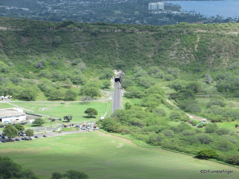 Views back to tunnel entrance, Diamond Head State Monument