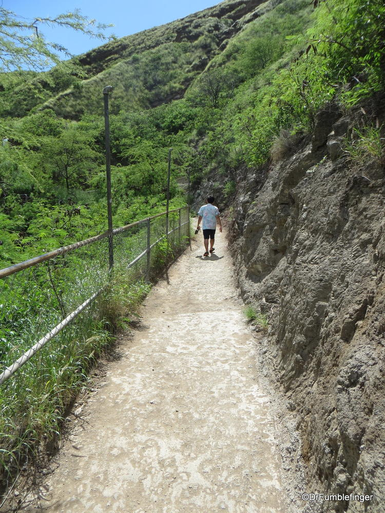 Trail, Diamond Head State Monument