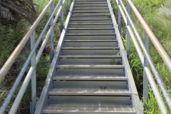 Stairs, Trail, Diamond Head State Monument