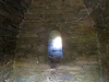 Window behind the alter of Gallarus Oratory