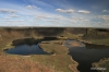 Dry Falls State Park, the reminants of the falls