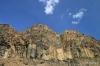 Basalt rock formations near Soap Lake