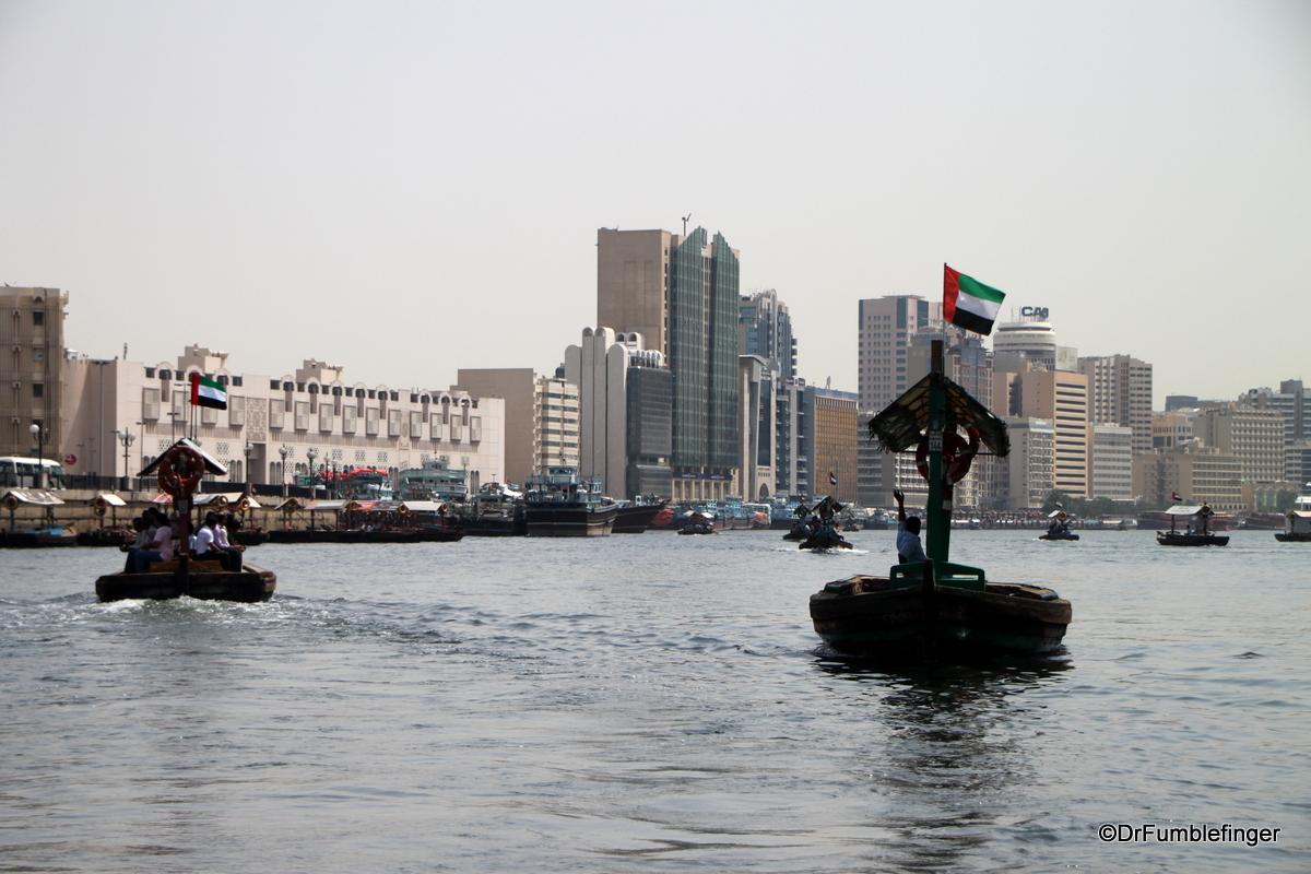 Abras on Dubai Creek