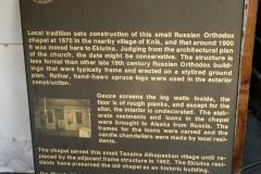 Old Log Cabin Church, Eklutna Historical Park