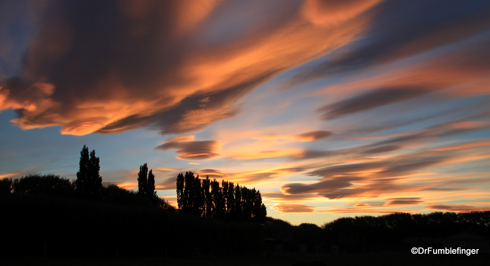 Sunset, El Calafate