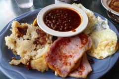 Peameal Bacon breakfast,  Elgin Street Din