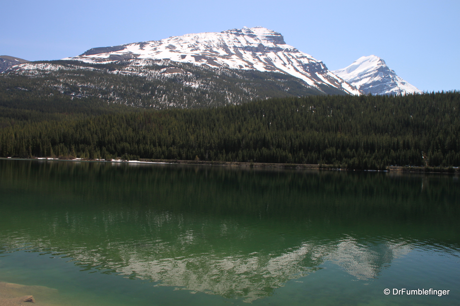 Wapta Lake, Yoho National Park