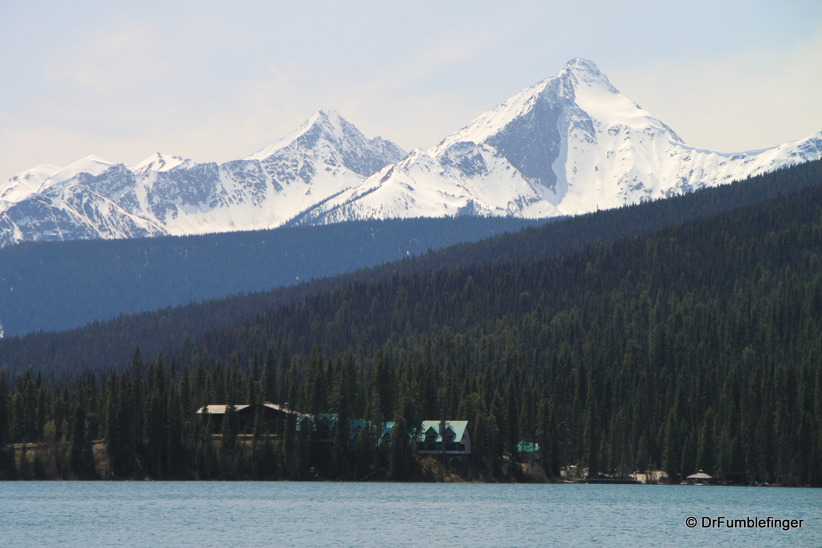 Emerald Lake,, View of Southwest Shore