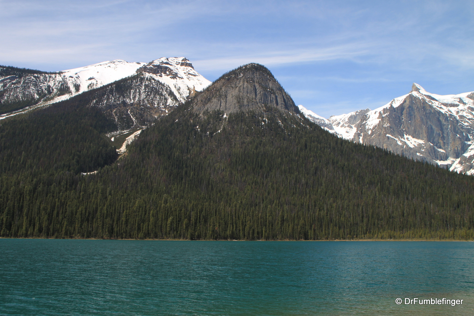 Emerald Lake, view of West Shore